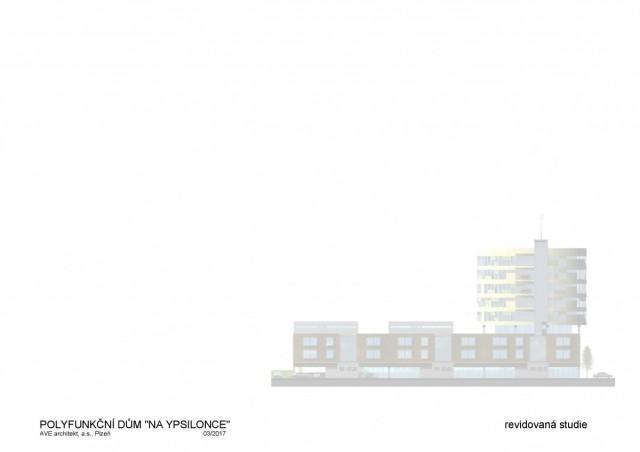 Nové byty na ypsilonce v Plzni